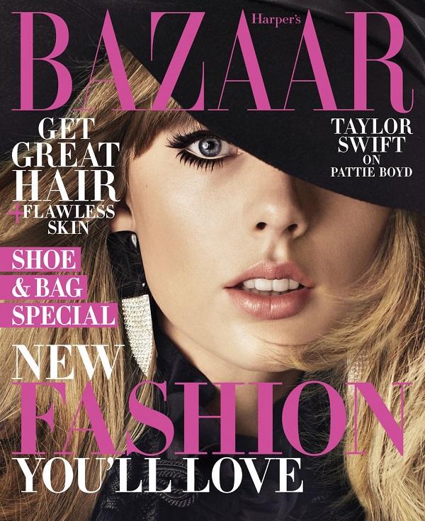 Taylor Swift là gương mặt trang bìa củaHarper's BAZAAR số mới nhất.