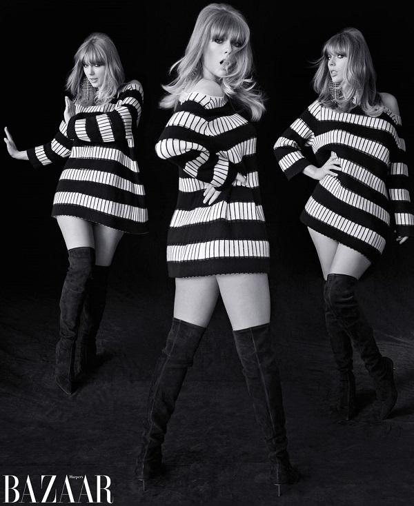 Taylor Swift xinh đẹp và cổ điển trên bìa tạp chí mới 2