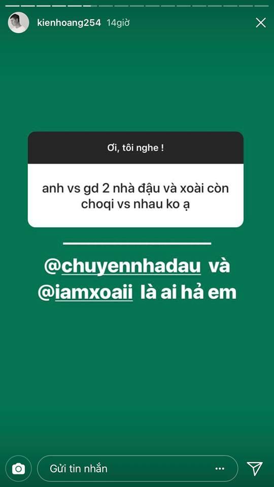 Dân mạng nghi ngờ bộ 3 gia đình hot face tan rã, Kiên Hoàng đáp lời trên Instagram 3