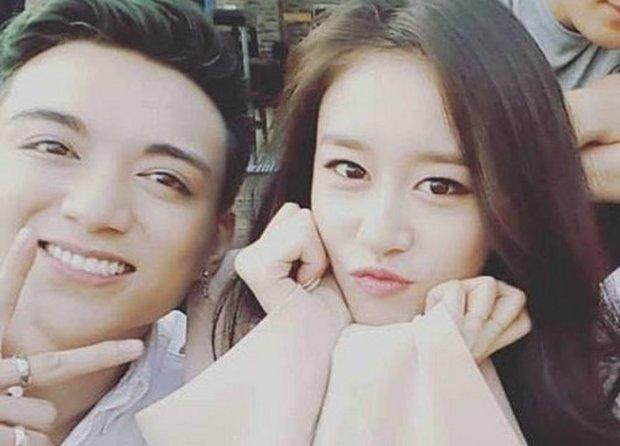Cặp trai tài gái sắc Soobin Hoàng Sơn và Ji Yeon lần đầu công khai hình ảnh 'hẹn hò' khi quay chung MV 'Đẹp nhất là em'.