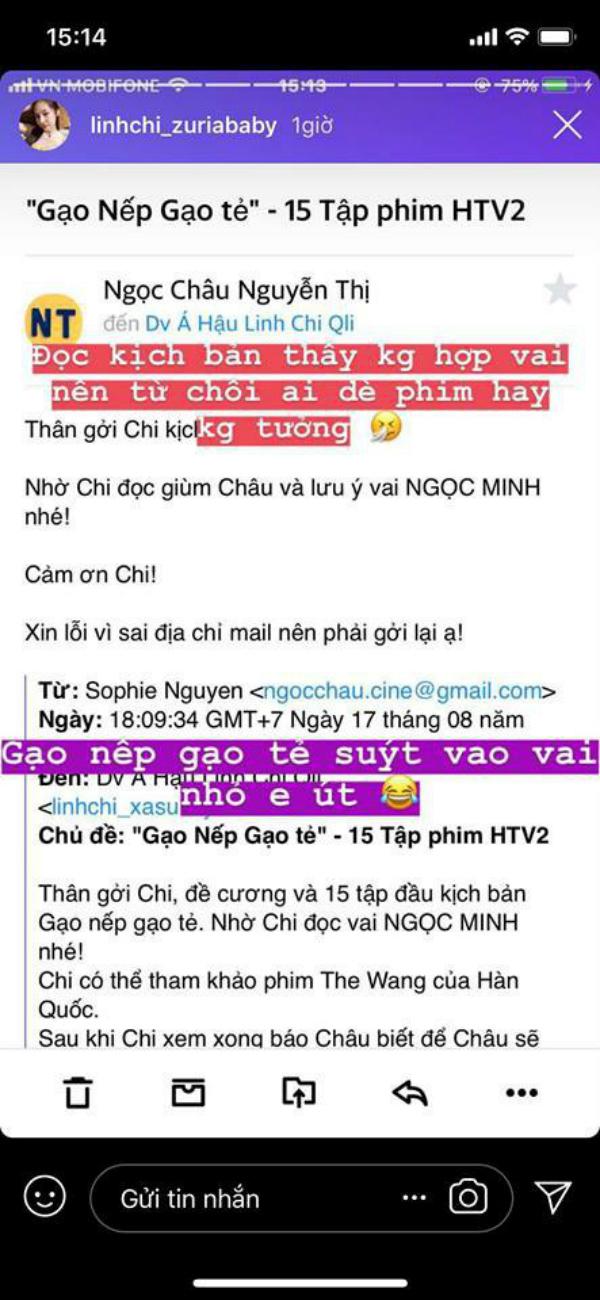 Từ chối vai ngố tàu trong 'Gạo Nếp Gạo Tẻ', giờ đây Á hậu Linh Chi mới thấy tiếc ngẩn ngơ 1