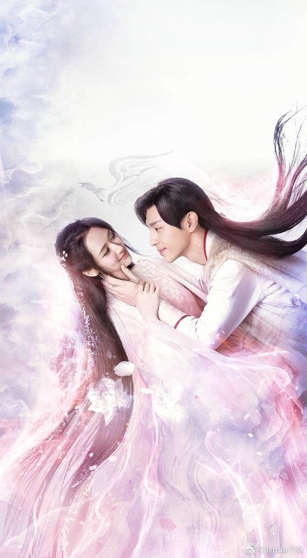 Đặng Luân và Dương Tử trong Hương mật tựa khỏi sương.