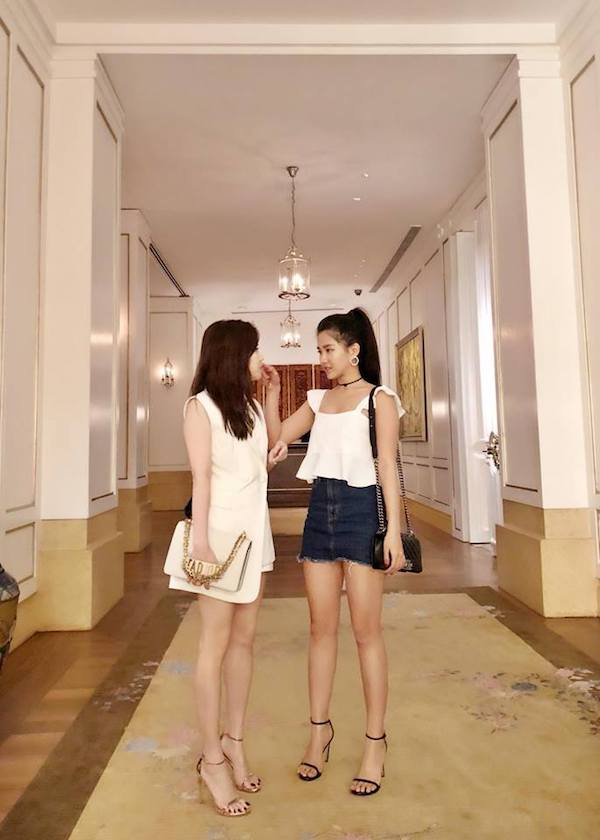 Hai cô bạn thân xinh đẹp chẳng kém hotgirl của Trinh Xíu 'Em chưa 18' 9