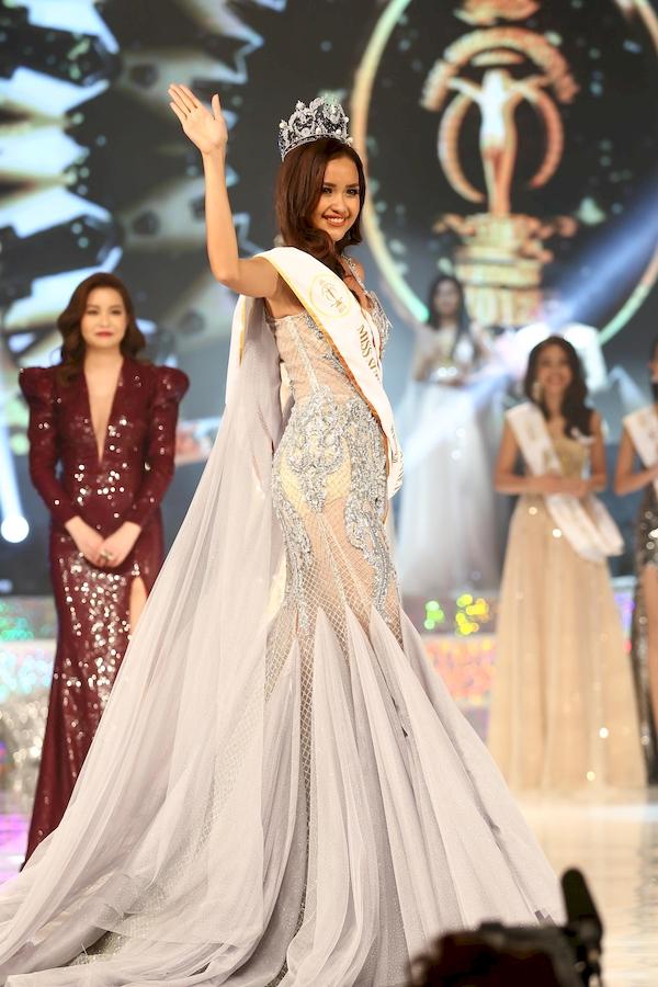 Những bước đi đầu tiên của Ngọc Châu trên cương vị Hoa hậuSiêu quốc gia Việt Nam 2018