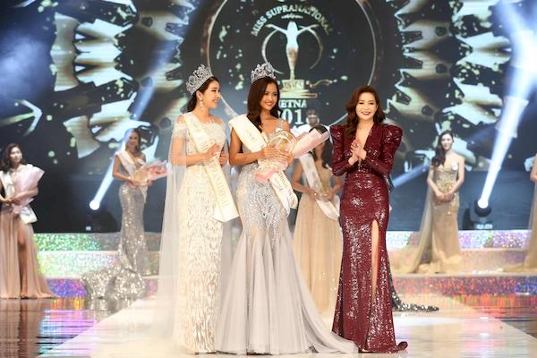 Ngọc Châu đăng quang Hoa hậu, Trương Mỹ Nhân nhận giải Á hậu tại 'Miss Supranational Vietnam 2018' 1