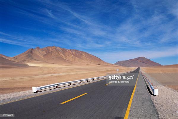 Xa lộ Transan Dean chạy dài 1000 dặm quanh Venezuela. (Ảnh: Getty Images)