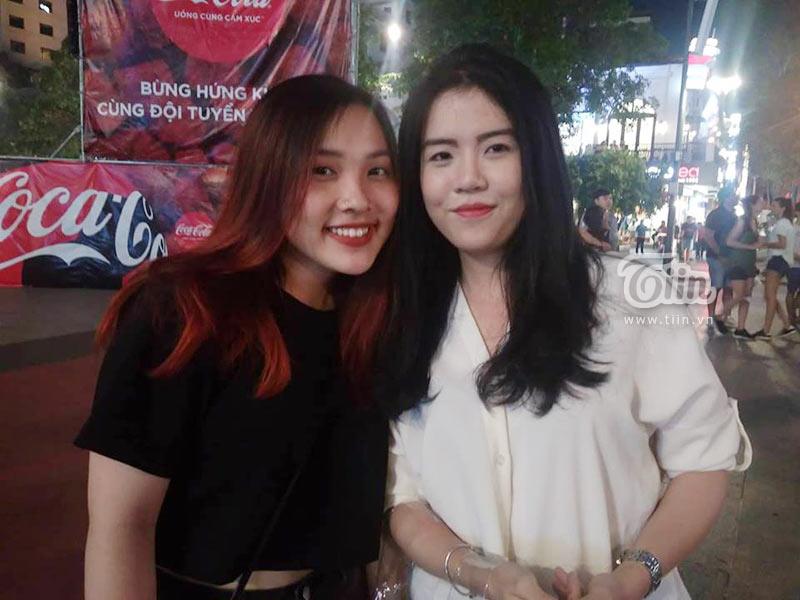 Đám đông cổ vũ Olympic Việt Nam: Nhìn đâu cũng thấy gái xinh 4
