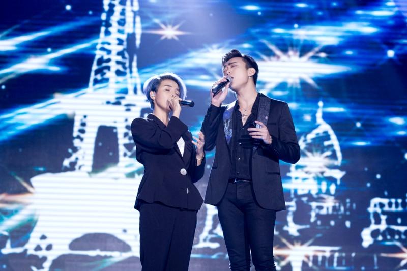 Màn song ca tình tứ của Soobin Hoàng Sơn và Vũ Cát Tường khiến khán giả thích thú 0
