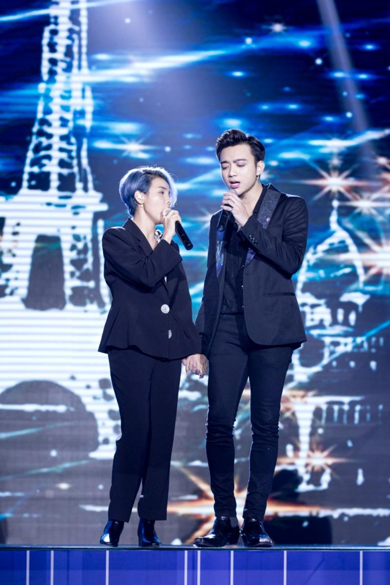 Màn song ca tình tứ của Soobin Hoàng Sơn và Vũ Cát Tường khiến khán giả thích thú 2