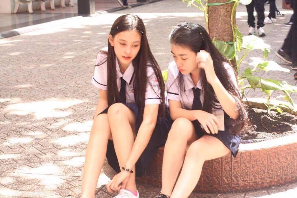 Ngắm mặt mộc trẻ trung và xinh đẹp của tân Hoa hậu Việt Nam Trần Tiểu Vy 9