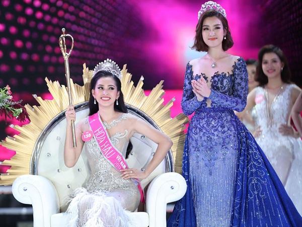 Hoa hậu Trần Tiểu Vy tại đêm chung kếtHoa hậu Việt Nam 2018