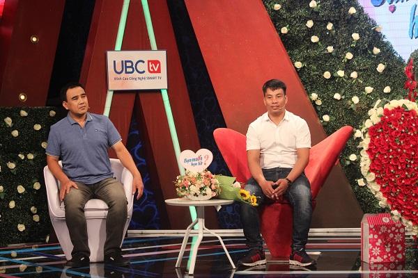 Nguyễn Tiến Dũng tại chương trình Bạn muốn hẹn hò