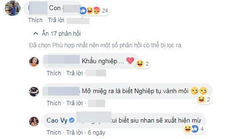 MC Cao Vy mở lại Facebook, tặng 'thẻ tích đức' cho những người xỉa xói, châm chọc mình 3