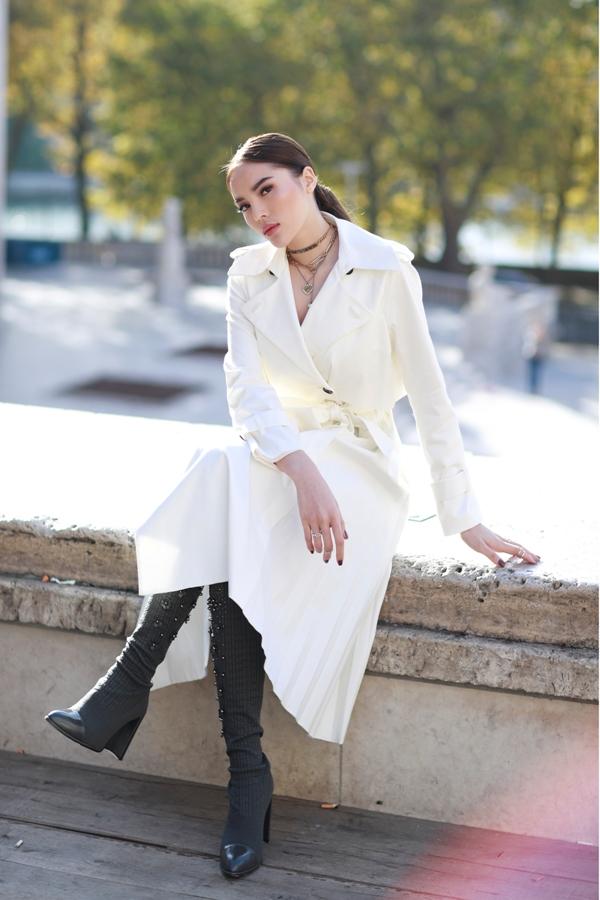 Phong cách thời trang đầy thu hút của KỳDuyên.