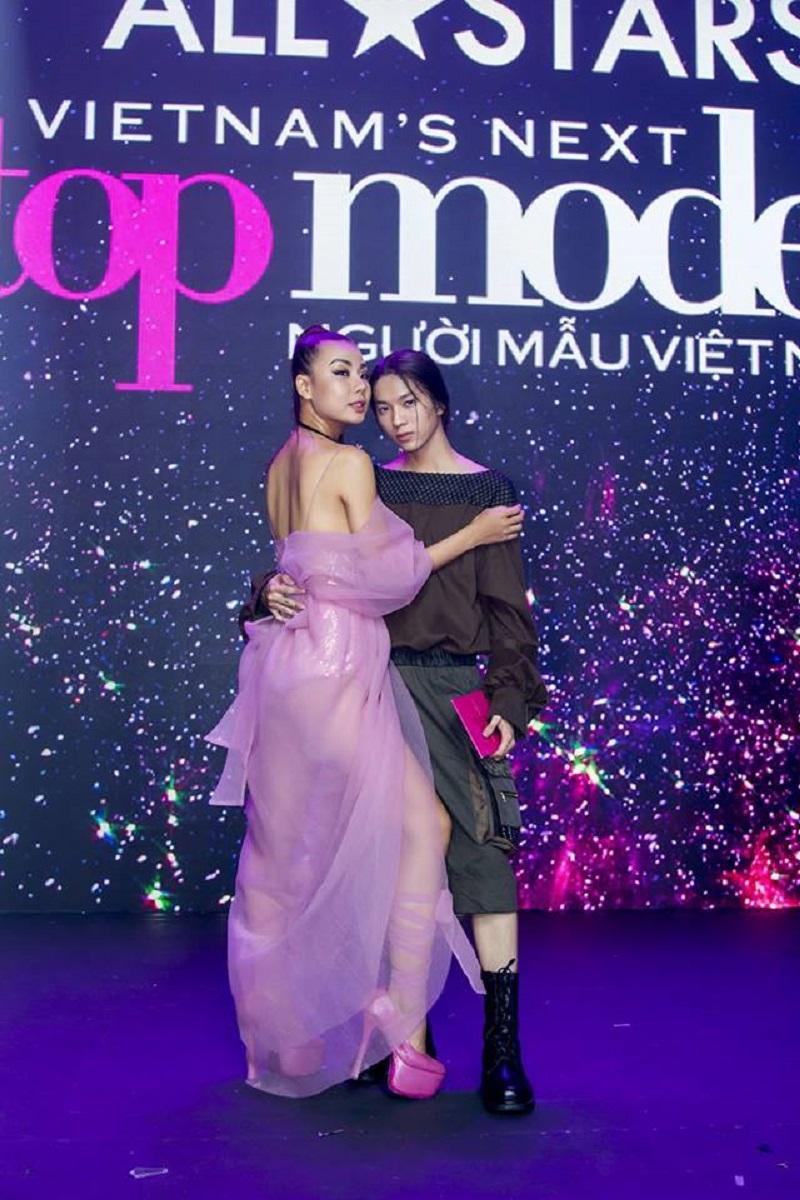 Anh chàng người mẫu nghiệp dư này từng xuất hiện trong chương trình Vietnam's Next Top Model năm 2017