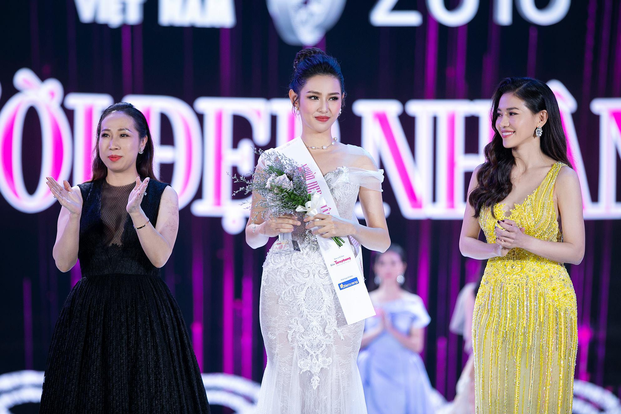 Thỳ Tiên trong đêm Chung kết Hoa hậu Việt Nam2018.