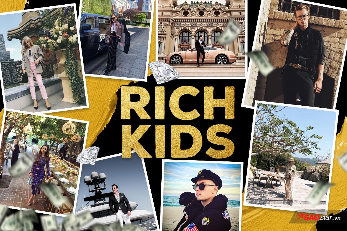 Cuộc sống của hội con nhà giàu Việt đã sang chảnh, hội Rick Kids nước ngoài còn gây choáng hơn 0
