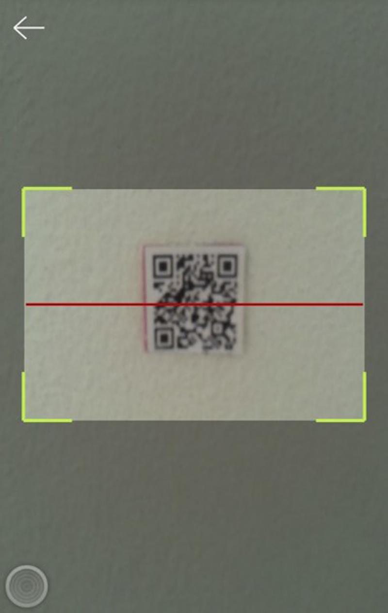 Quét mã vạch để tắt chuông báo thức. Ảnh: Coongcu.com.