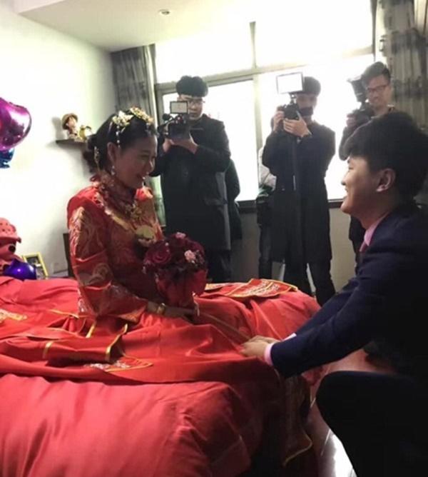 Cô dâu được chú ý nhất Trung Quốc thời gian qua