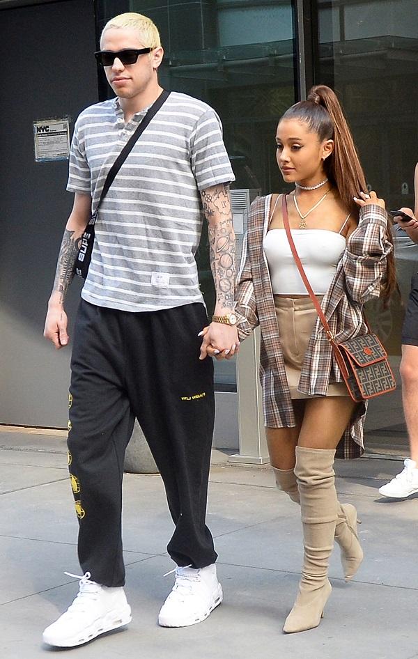 Liệu một ngày, Ariana Grande và Pete Davidson có ngẫu hứng quay lại yêu nhau?