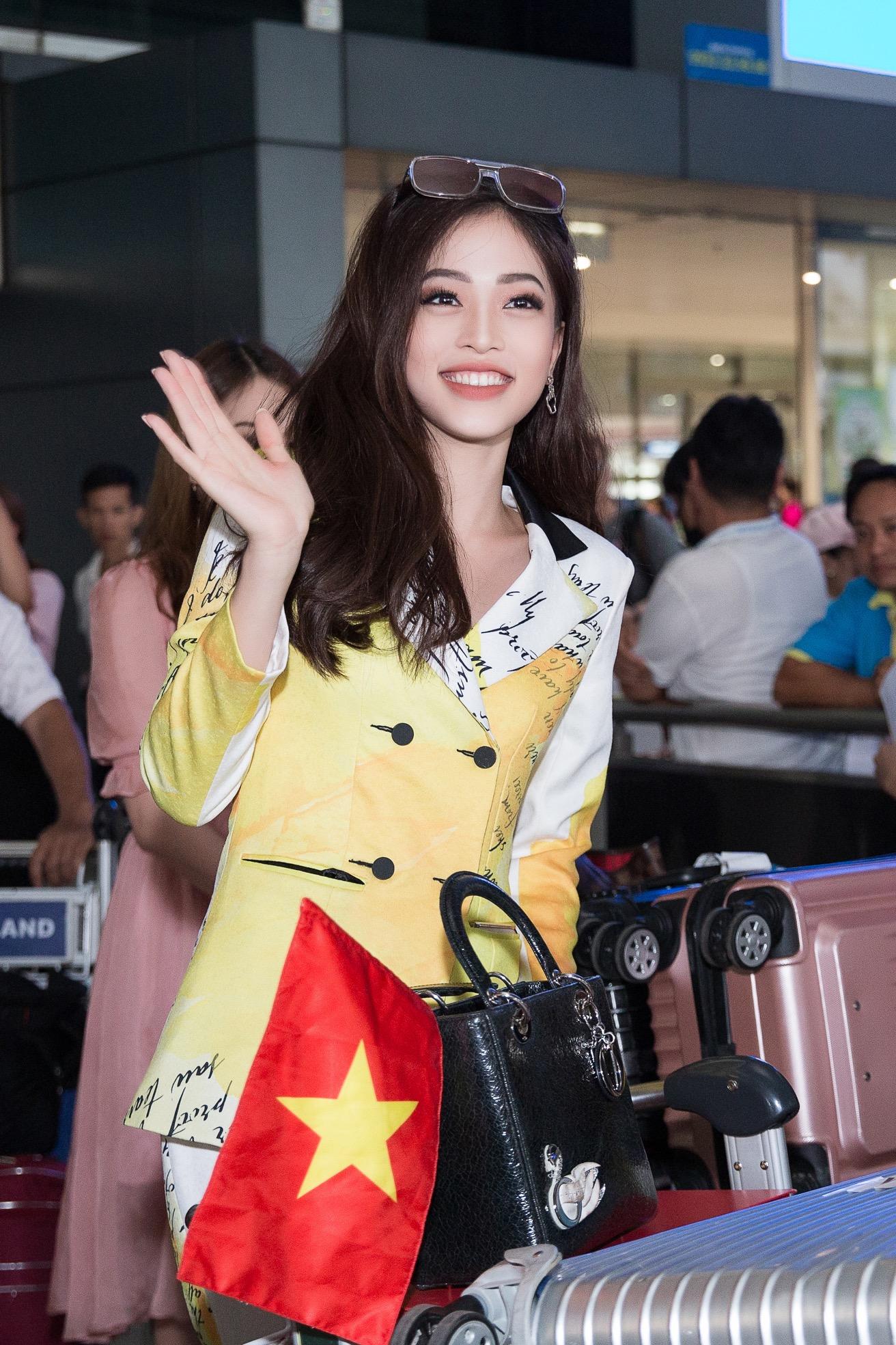 Hoa hậu Tiểu Vy ra tận sân bay đón Phương Nga trở về nước sau hành trình tại Miss Grand International 2018 1