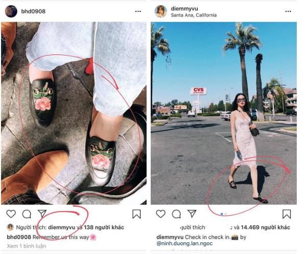 Bảo Hưng đăng ảnh đôi giày của một cô gái giấu mặt và trùng hợp thay, Diễm My 9X cũng có một đôi y chang