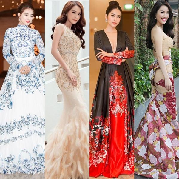 4 người đẹp với 4 cá tính thời trang khác nhau: người một mực 'kín bưng', người gợi cảm hết cỡ