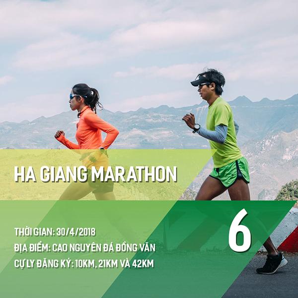 16 giải chạy bộ năm 2018 các Runners nhất định phải một lần ghi danh 5