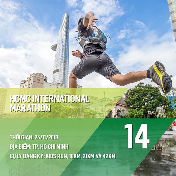 16 giải chạy bộ năm 2018 các Runners nhất định phải một lần ghi danh 13