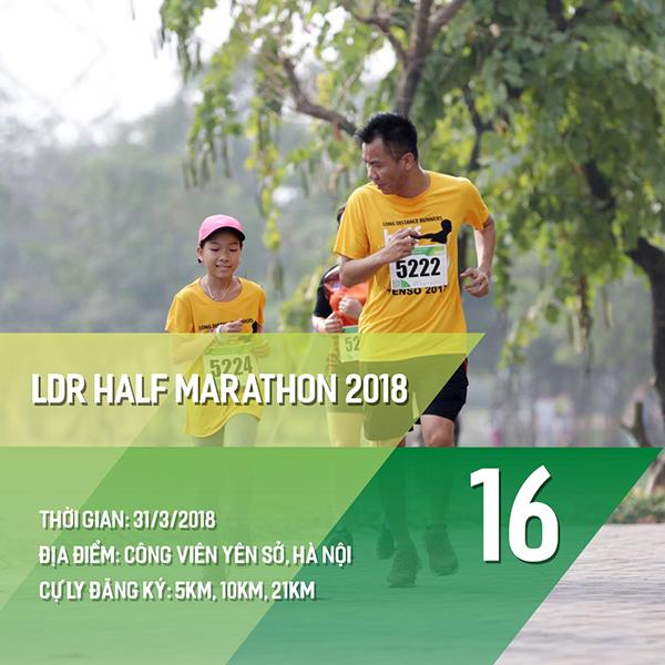 16 giải chạy bộ năm 2018 các Runners nhất định phải một lần ghi danh 15
