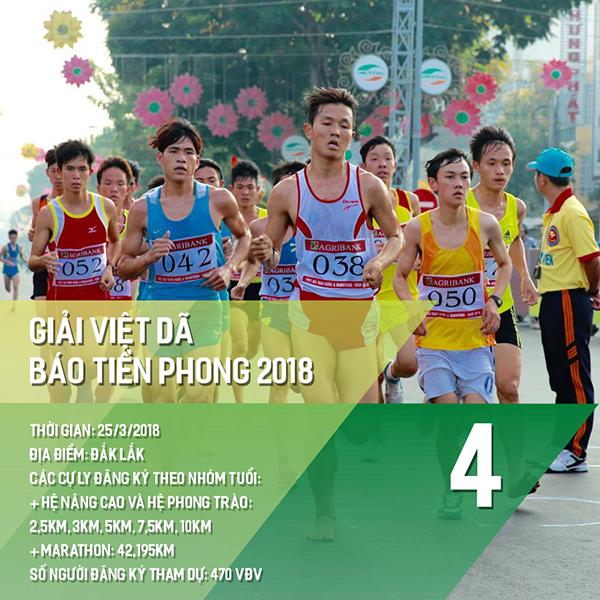 16 giải chạy bộ năm 2018 các Runners nhất định phải một lần ghi danh 3