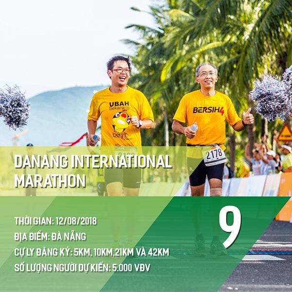 16 giải chạy bộ năm 2018 các Runners nhất định phải một lần ghi danh 8