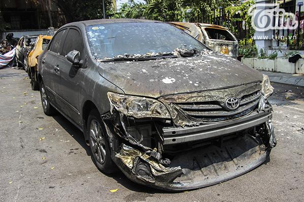 Đa số xe bị hư hỏng quá nặng không thể sửa chữa được nữa