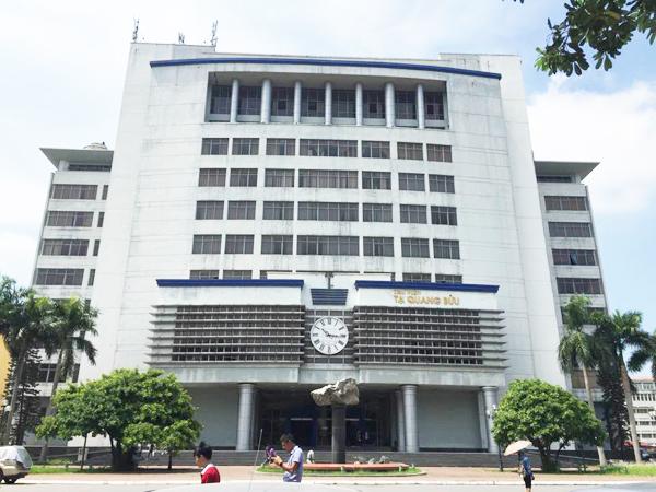 Toàn cảnh thư viện Tạ Quang Bửu