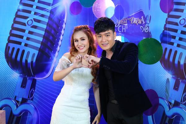 Tuấn Khương và Như Thùy cùng tham gia 'Giai điệu chung đôi'.