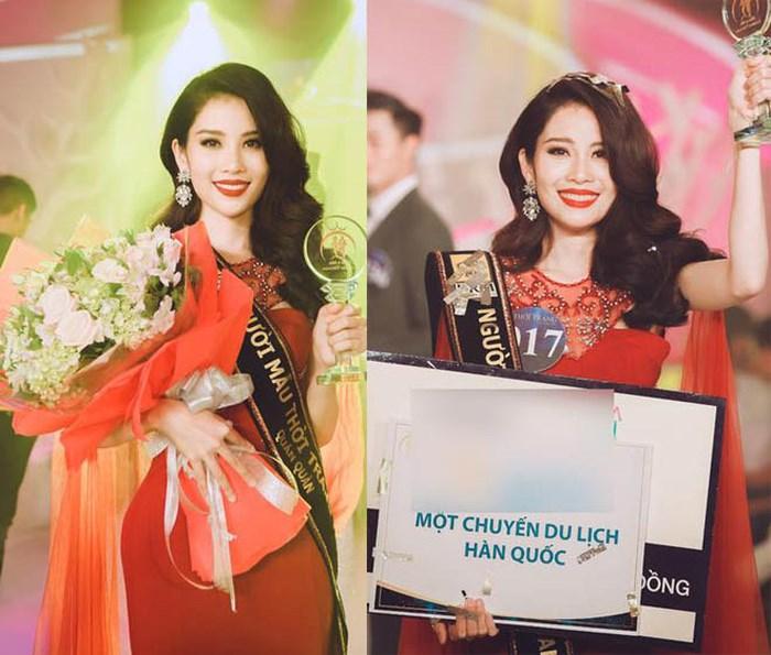 Chị gái Hoa khôi Nam Em giành giải nhất Người mẫu thời trang Việt Nam 2018.