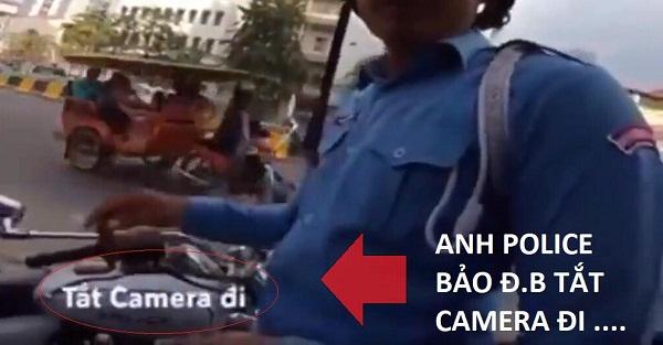 Dân mạng tranh cãi nảy lửa vụ phượt thủ Việt quay clip CSGT Campuchia ăn hối lộ 1
