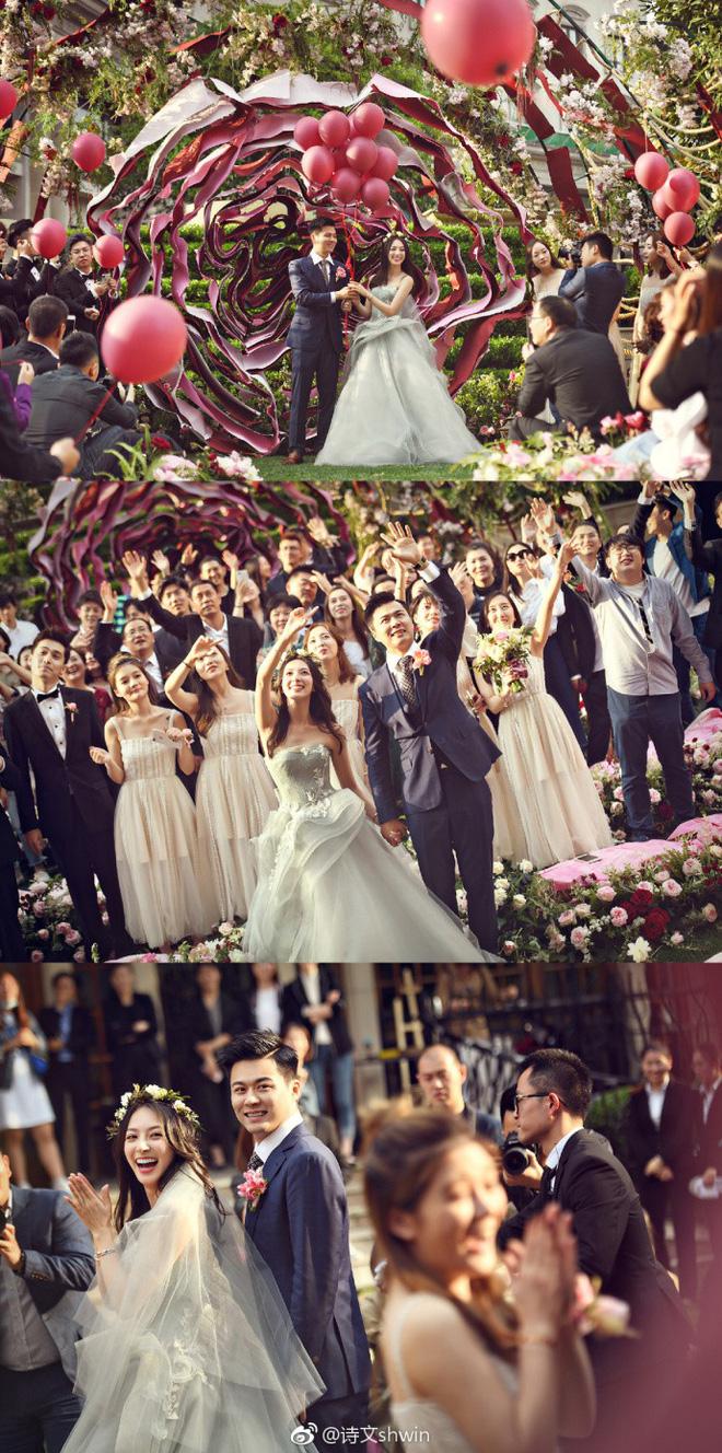 Những đám cưới cổ tích của dàn hot girl 'vạn người mê' từng nổi đình nổi đám khắp Trung Quốc 4