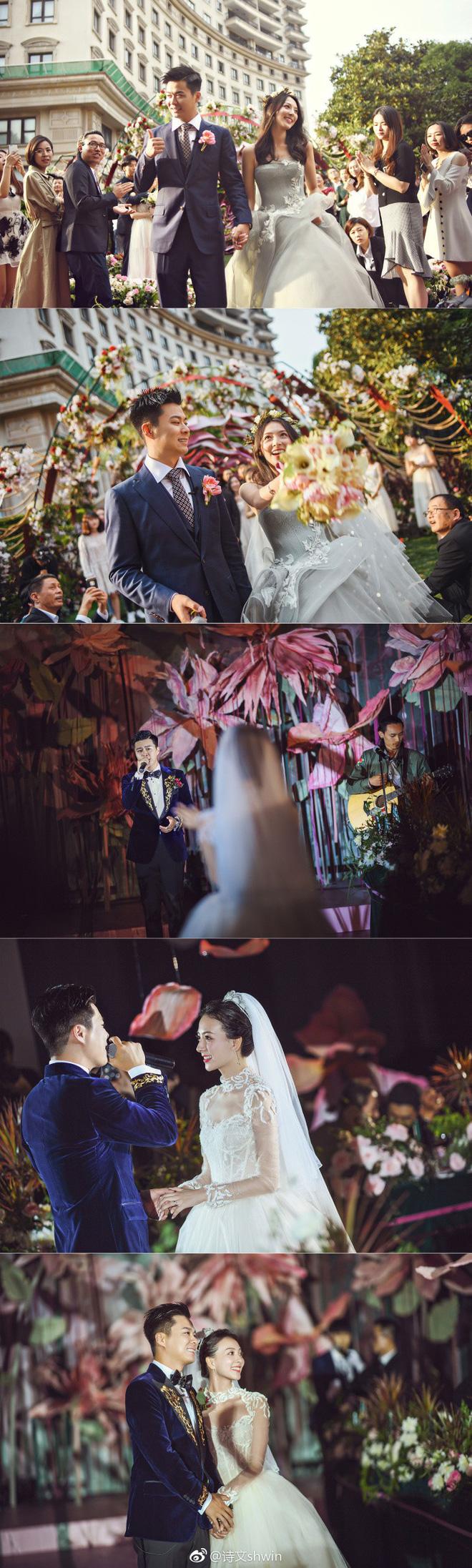 Hạ Thi Văn được 'réo tên' là cô gái may mắn nhất bởi mối tình đậm chất ngôn tình và đám cưới đẹp như truyện cổ tích.