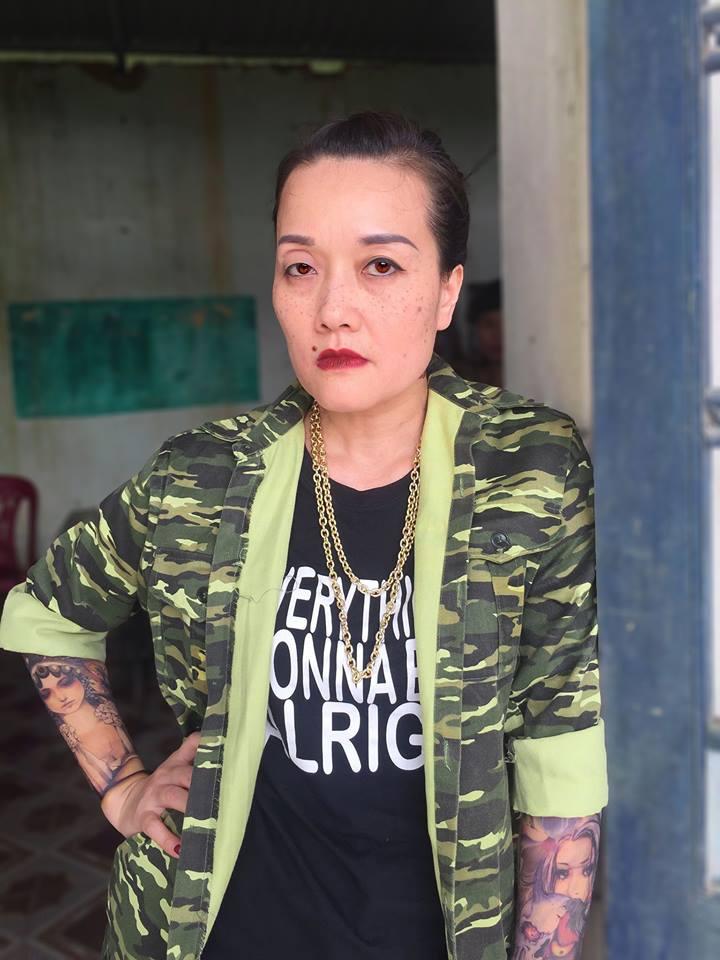 Nghệ sĩ hài Vân Dung bất ngờ thành nữ giang hồ xăm trổ đầy mình trong 'Người phán xử ngoại truyện' 0