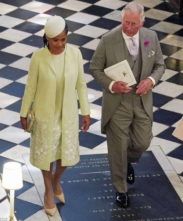Thái tử xứ Wales cùng bà Doria Ragland - mẹ của cô dâu