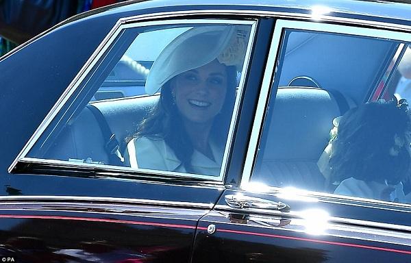 Cả gia đình Công nương Kate Middleton cùng nhau tới dự từ buổi sáng.