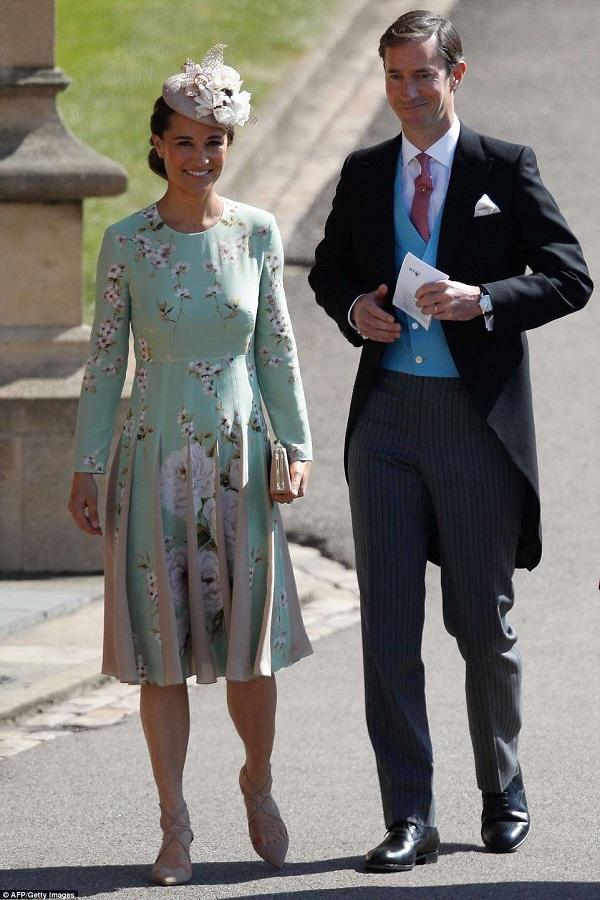 Pippa Middleton - em gái Công nương Kate Middleton cùng chồng - James Matthews