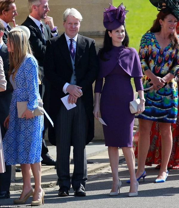 Earl Spencer - anh trai của cố Công nương Diana, xuất hiện rạng rỡ cùng người vợ Karen Villeneuve
