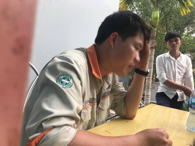 Anh Hoàng cho biết, ngày hôm qua vợ chồng mới đi đăng ký sinh cho con vậy mà anh đã mất hết tất cả.
