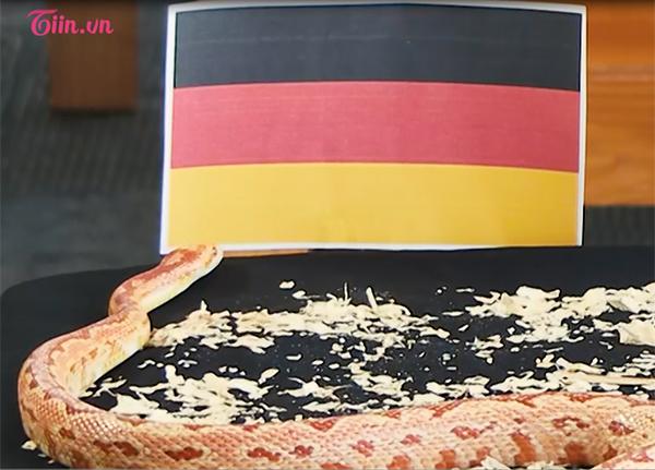 Chú Rắn Cute của Hiền Mai (The Voice) tiến thẳng về phía cờ của cỗ xe tăng Đức không chần chừ.