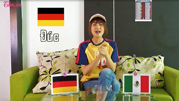 Rùa Siêu Tốc khá ăn ý với cô chủ Nhung Gumiho khi dự đoán Đức thắng.
