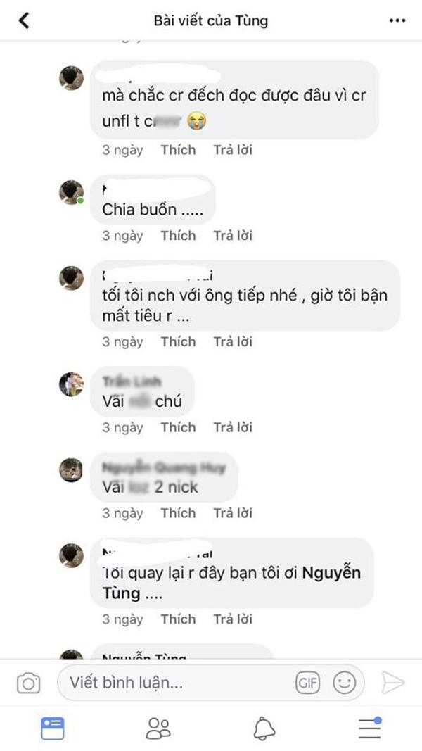 Đỉnh điểm của sự cô đơn là anh chàng này tự lâp 2 tài khoản facebook để nói chuyện với nhau.
