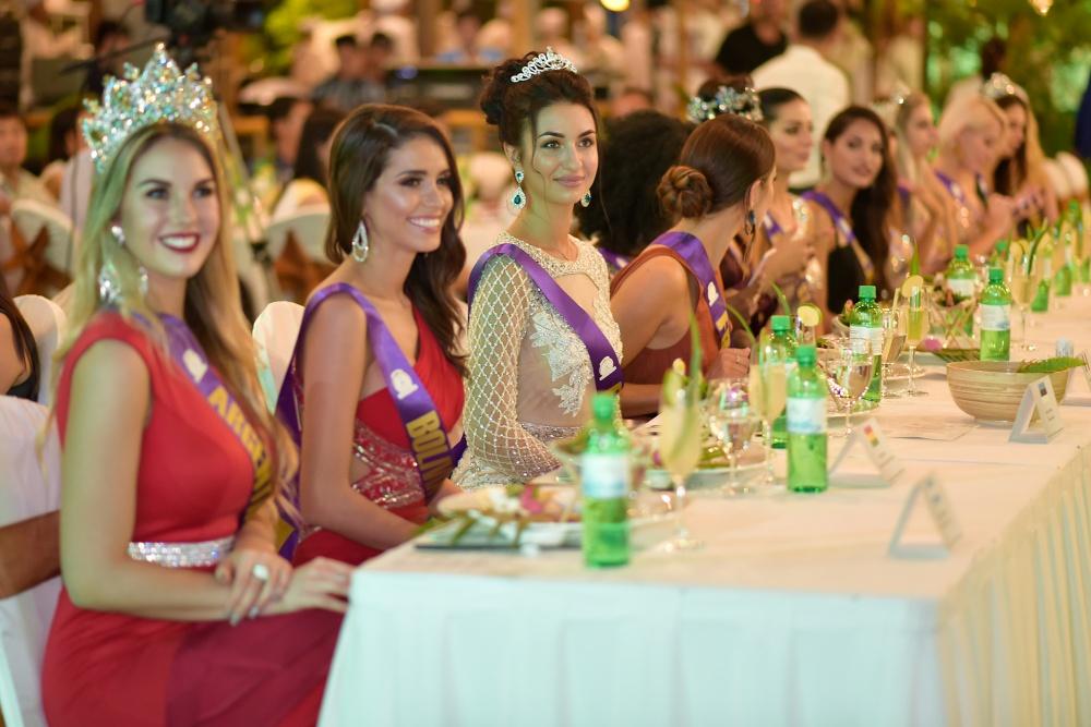 Nhan sắc của các người đẹp tham gia 'Hoa hậu đại sứ du lịch Thế giới 2018'.