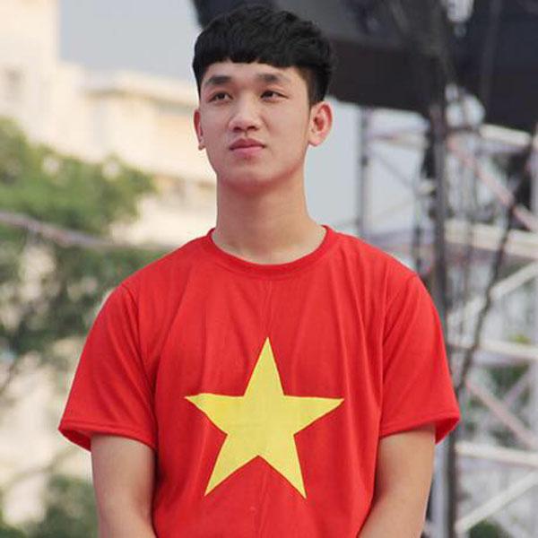 Trọng Đại - chàng cầu thủ hot boy của U23 Việt Nam.